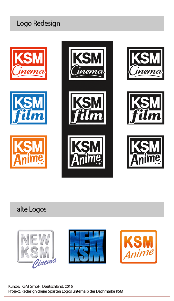 KSM Film Pia Steinmann Logo Anime film cinema